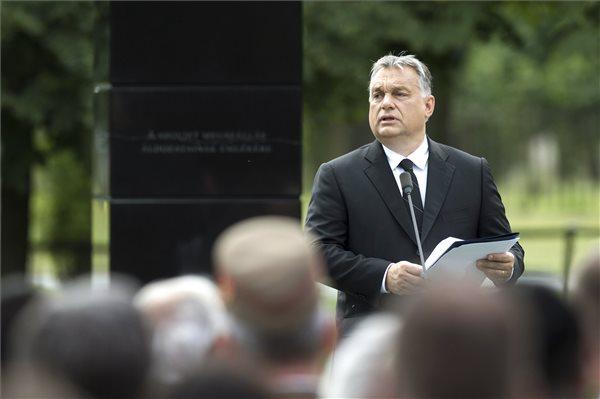 Orbán: az ország legértékesebb vagyona a szuverenitása