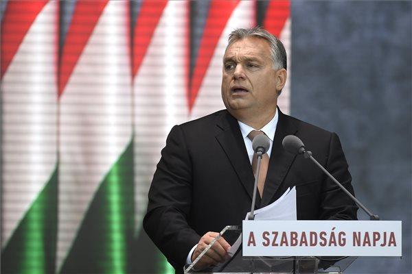 Orbán: a magyar nem hazardírozik a hazájával – videó