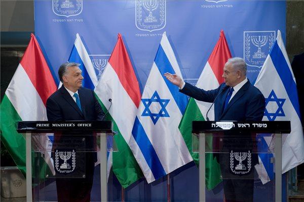 """""""Magyarország kiáll Izrael mellett, és harcol az antiszemitizmus ellen"""" – Netanjanu köszönetet mondott Orbánnak Izrael védelmezéséért"""