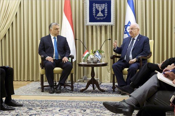 Orbán: a magyar kormány teljesíti kötelességét a zsidó közösséggel szemben