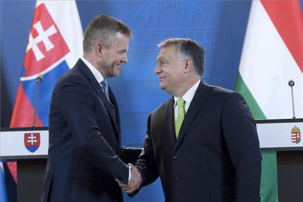 Pellegrini: Szlovákia folytatja a jó kapcsolatok építését Magyarországgal