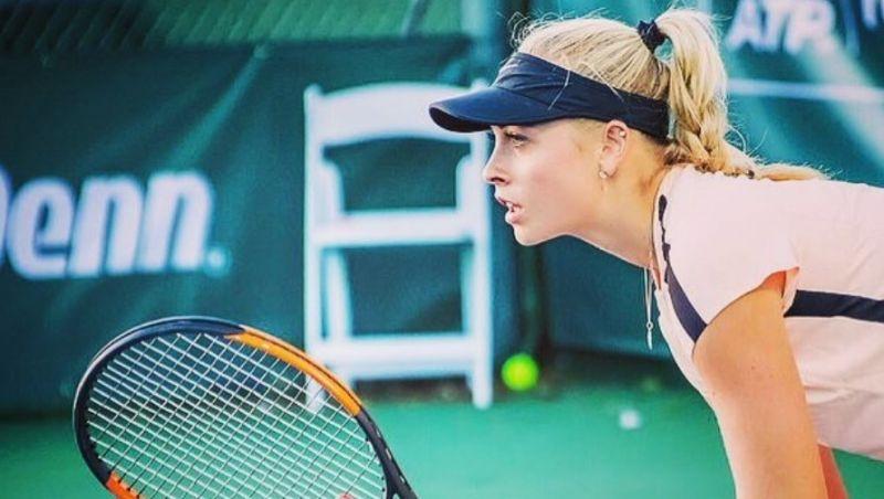 Stollár Fanny főtáblás a charlestoni tenisztornán