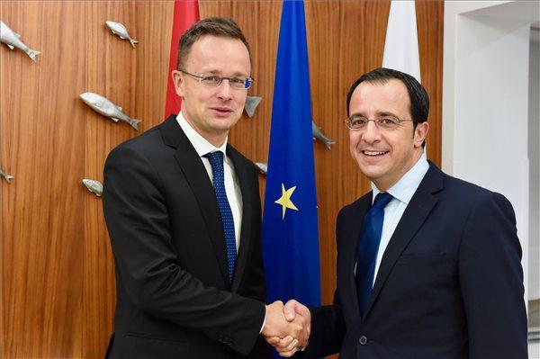 Szijjártó: felértékelődik Magyarország és Ciprus együttműködésének jelentősége