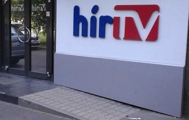 Leszedték a Hír Tv tábláját