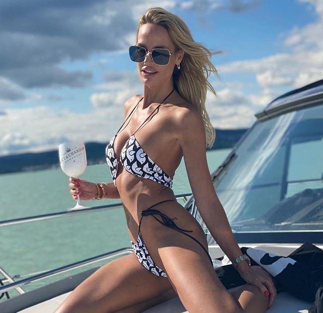 Zimány Linda bikinis fotóval forrósítja fel a hangulatot