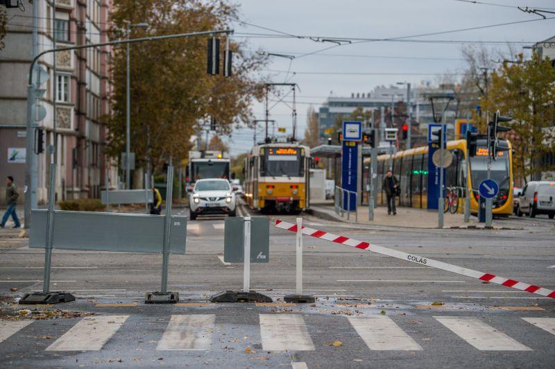 Megborul Dél-Buda villamosközlekedése a hétvégétől várhatóan nyár közepéig