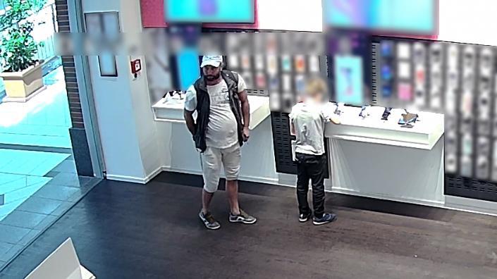 Telefont lopott, a rendőrség keresi