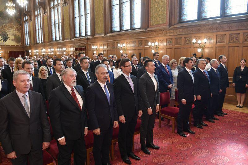 Áder János kinevezte a negyedik Orbán-kormány államtitkárait