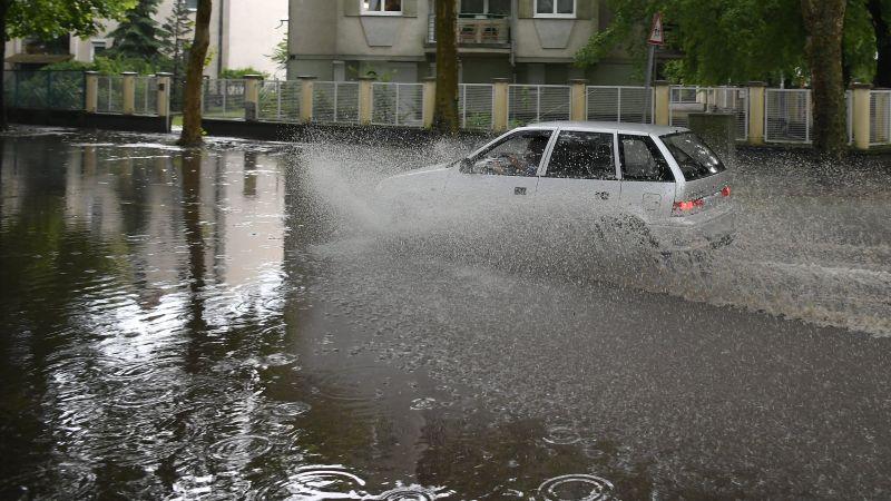 Akkora eső esett Debrecenre, hogy még a felcsútiak is eláztak
