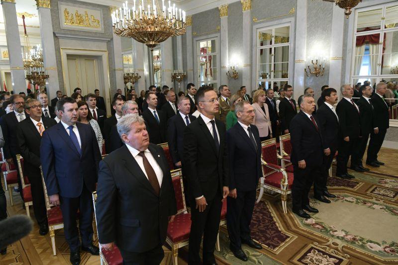 Fotók! Megalakult a negyedik Orbán-kormány