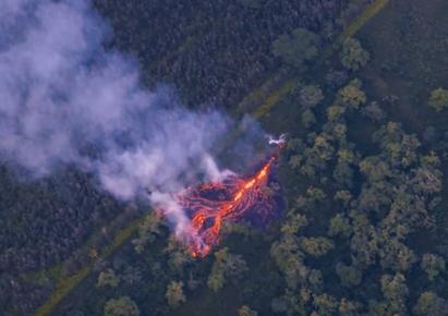 Újabb hasadékok nyíltak a Hawaii-szigeten tomboló Kilauea vulkánon