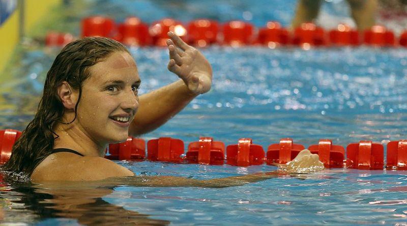 Hosszú Katinka versenycsúccsal lett első a 200 méteres vegyesúszásban