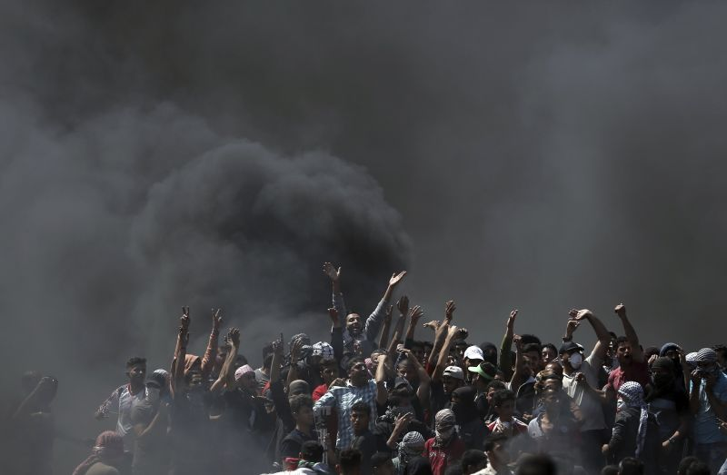 Brutális: több száz sebesült, rengeteg halott a gázai összecsapásokban