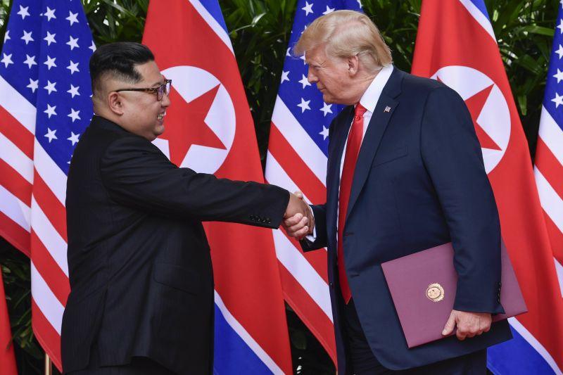 Trump szerint az észak-koreai diktátor egy mókás alak