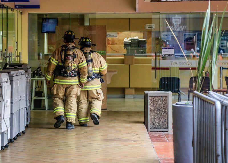 Tűz keletkezett egy nyolc emeletes házban Angyalföldön