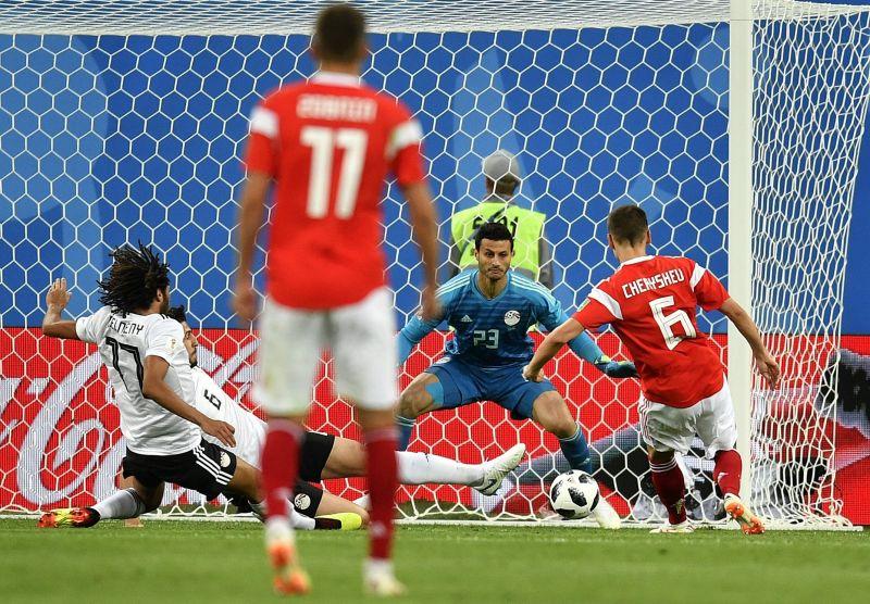 Oroszország 3-1-re nyert Egyiptom ellen