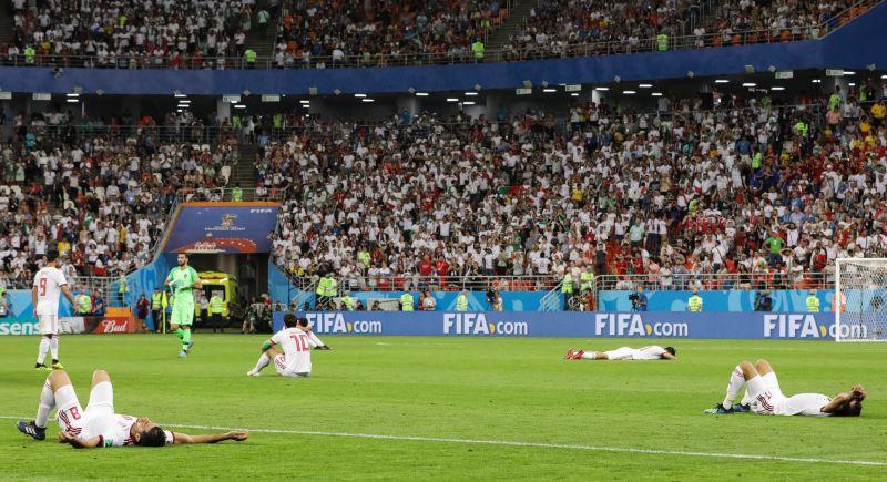 Szegény: azért maradt le a vébéről egy iráni focista, mert épp vécén volt