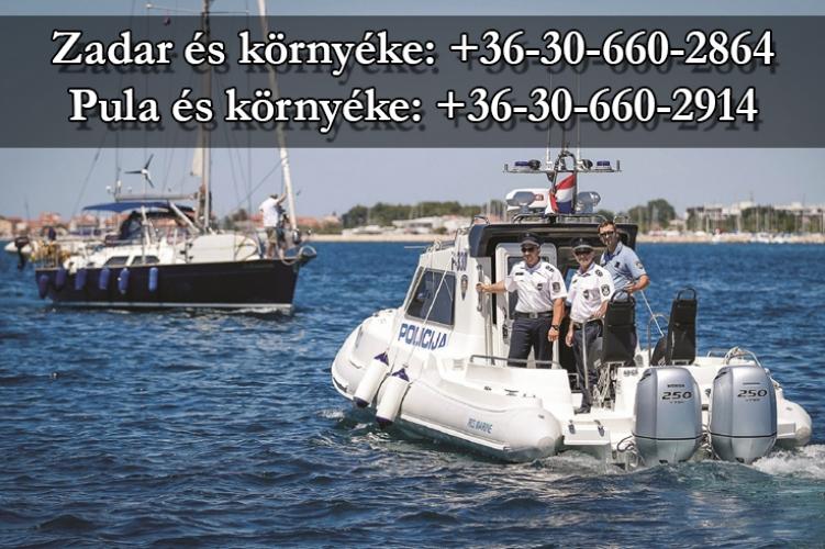 Pula és Zadar környékén idén is lesznek magyar rendőrök a turisták segítésére