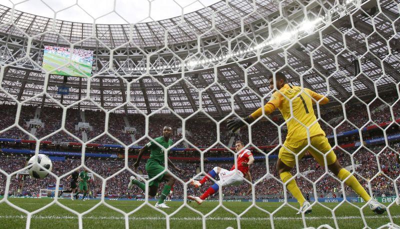 Elsöprő győzelmet arattak az oroszok a világbajnokság nyitómecsén: Oroszország – Szaúd-Arábia: 5-0