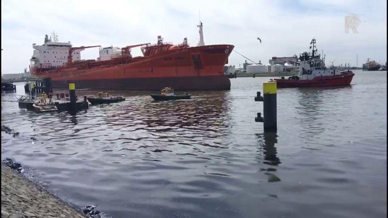 Súlyos környezetszennyezés Rotterdamban