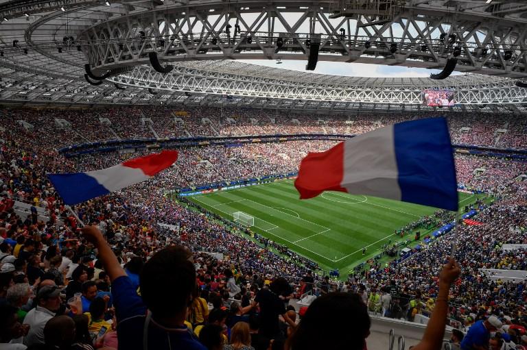 Lement az első félidő: Franciaország – Horvátország: 2-1