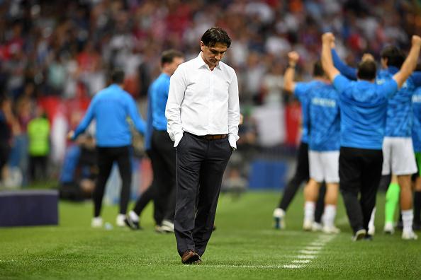 Zlatko Dalic: ez volt a legjobb meccsünk, a szerencse hiányzott