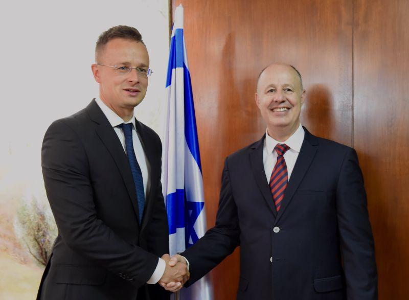Szijjártó: Magyarország energiabiztonsága szempontjából is fontos Izrael