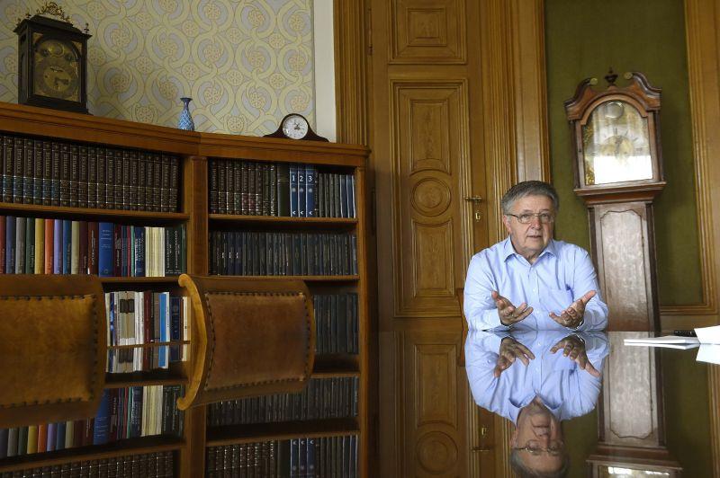 Lovász László interjút adott az MTI-nek az ITM-ről