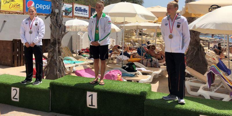 Két magyar érem a junior nyíltvízi úszó Európa-bajnokságon