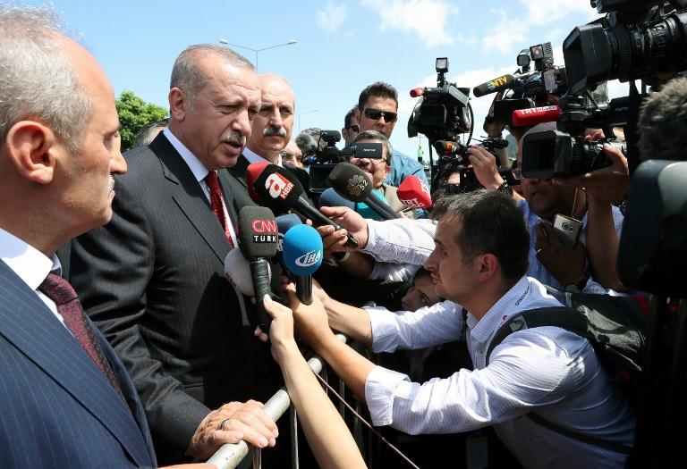 Erdogan nem igazán érti, hogy Amerika miért áll ki minden egyes állampolgáráért