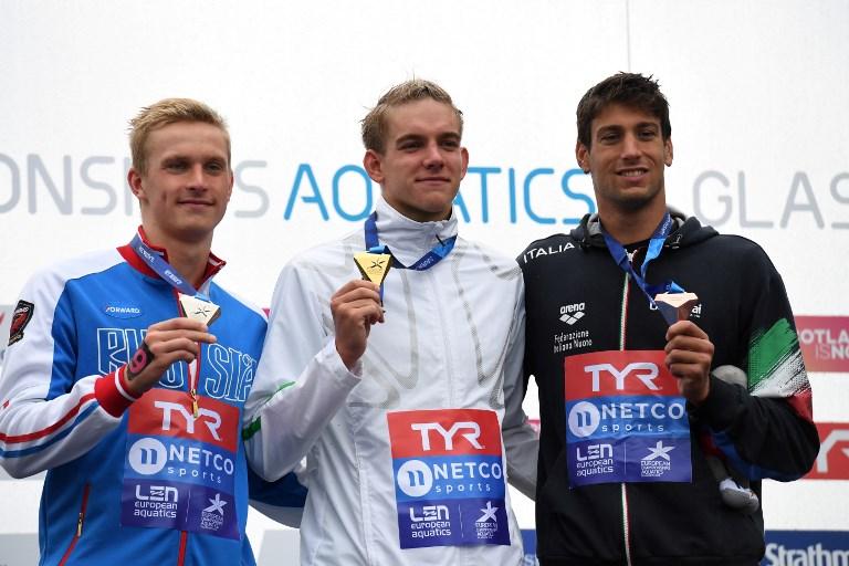 Nyíltvízi úszó Eb – Rasovszky Kristóf 25 kilométeren is aranyérmes