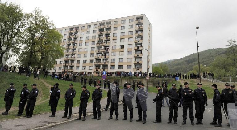 Csehországban sincs túl jó soruk a romáknak