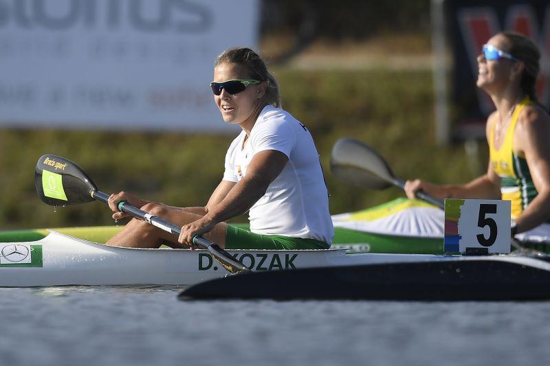 Aranyérmet nyert Kozák Danuta a világbajnokságon