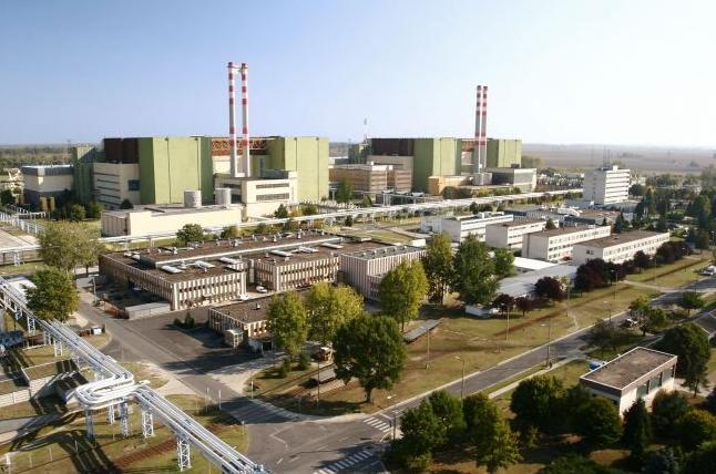 Csökkent a Paksi Atomerőmű által termelt villamos energia mennyisége a hőség miatt