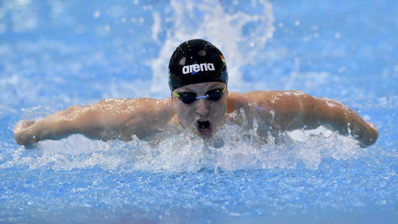 Verrasztó Dávid aranyérmet nyert 400 méter vegyesen
