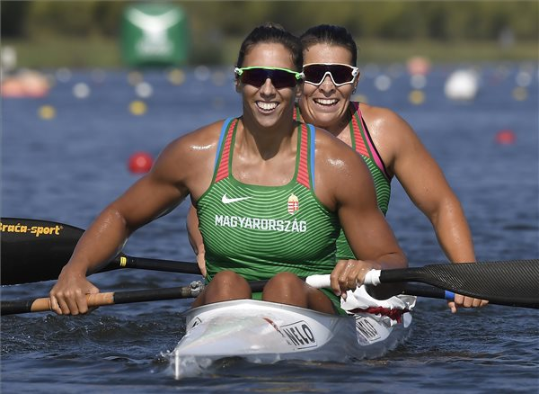 Megvan a magyar kajak-kenu sport 200. és 201. aranyérme