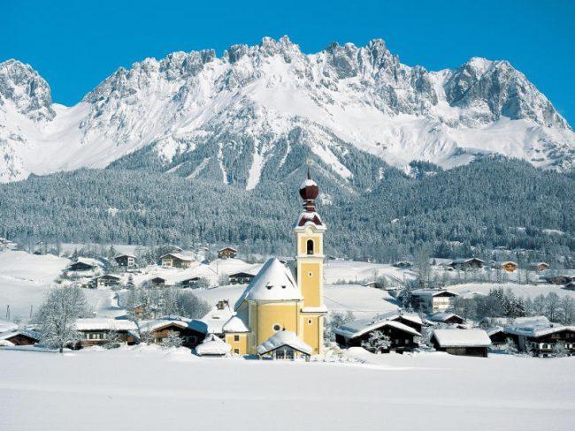 Hó esett Ausztriában és Olaszországban