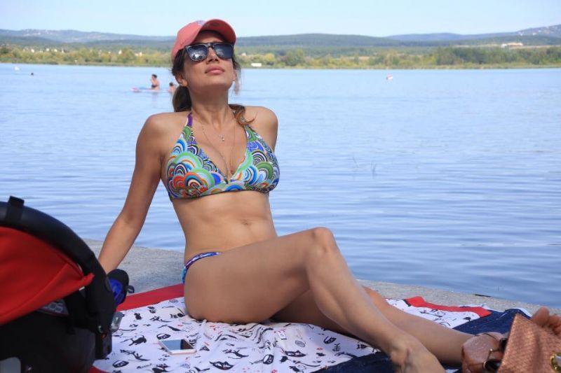 Szeretné Horváth Évát bikiniben látni? Ide utazzon a hétvégén!