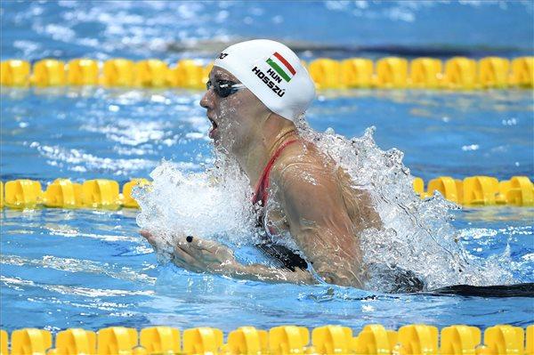 Úszó Eb – Hosszú és Burián döntős 100 méter háton, Cseh 9. 50 méter pillangón