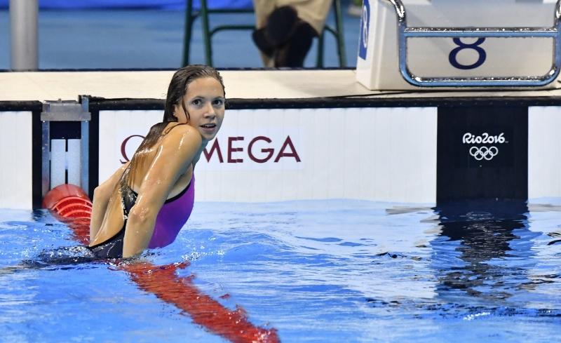Kapás Boglárka aranyérmes 200 méter pillangón