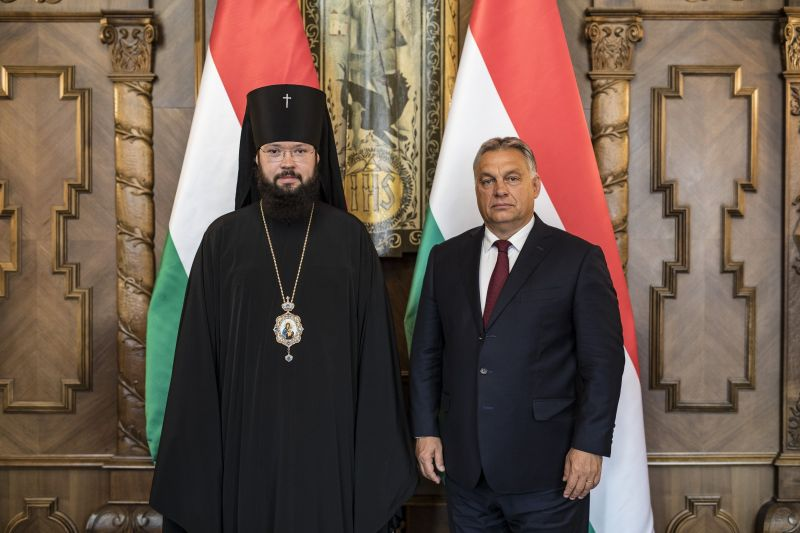 Orbán Viktor fogadta Antonyij érseket – Fotók!