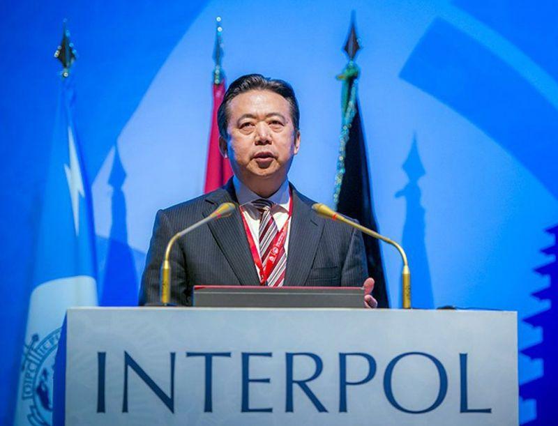 Egy kés-emojit küdött az Interpol kínai elnöke az eltűnése előtt