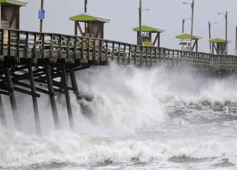 Elérte Amerika partjait a gyilkos hurrikán