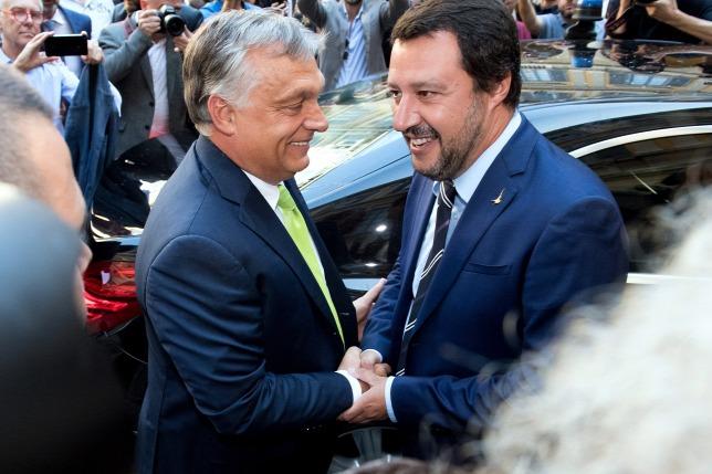 """""""Orbánnal együtt fogjuk kormányozni Európát"""" – az olasz belügyminiszter megváltoztatná a kontinens történelmét"""