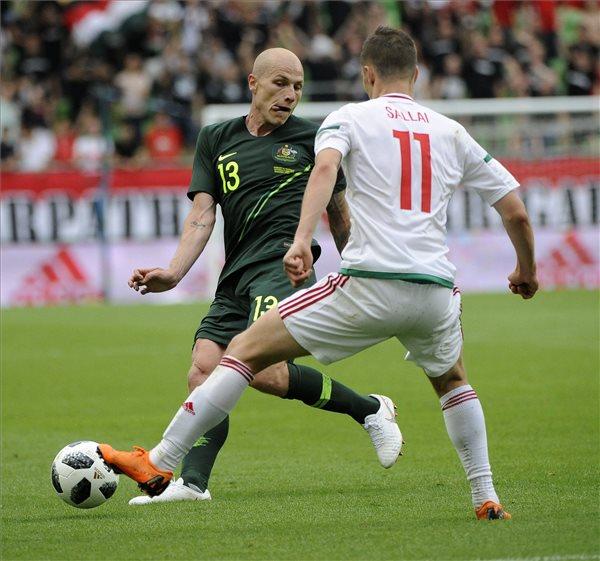 A Bundesligában debütáló Sallai Roland bekerült a forduló válogatottjába