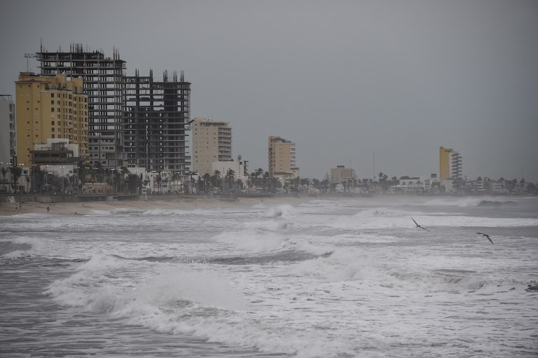 Készülnek a Willa hurrikán érkezésére