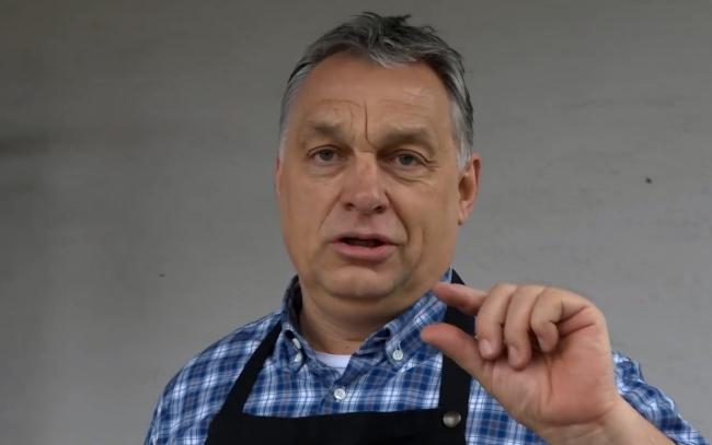 Orbán adta át az Év vállalata díjat az őt repülőztető Garancsinak
