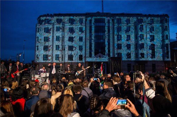 Kárpátaljai egyetemista is felszólalt Gulyás Gergely '56-os beszéde után Budapesten
