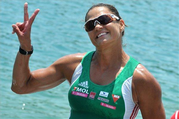 Friss kép: 42 évesen lett kismama a magyar olimpiai bajnok