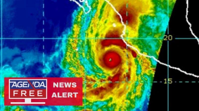 Brutális erejű hurrikán fenyegeti Mexikó nyugati partjait